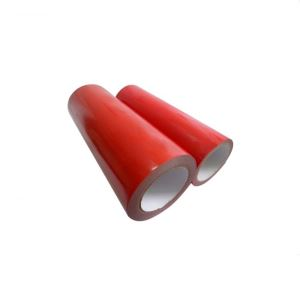 Red BOPP Adhesive Tape Jumbo Roll Packaging Tape